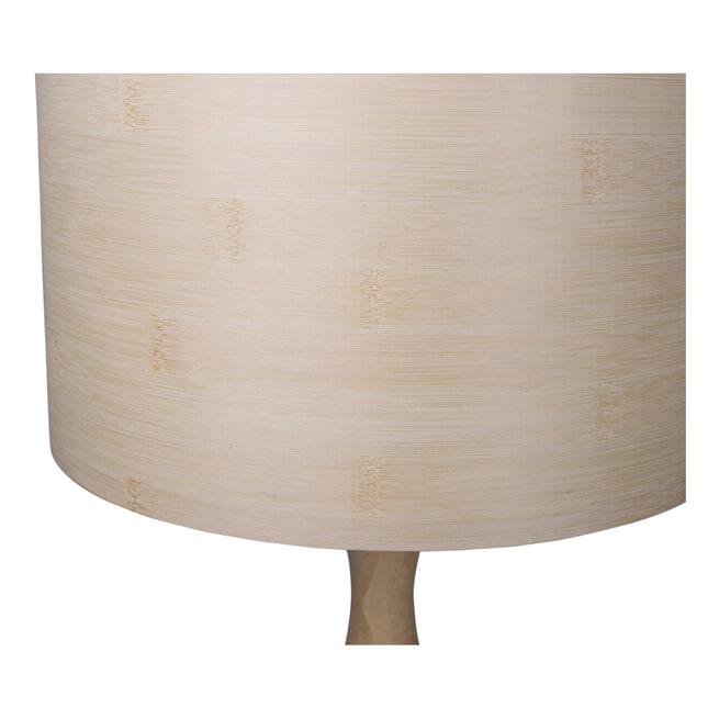 BePureHome Tafellamp 'Lunar' kleur Naturel, Ø32cm