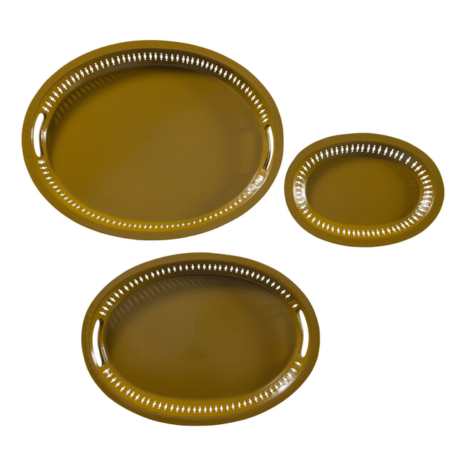BePureHome Dienblad 'Dish' Set van 3 stuks