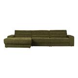 BePureHome Loungebank 'Date' Links, kleur Groen