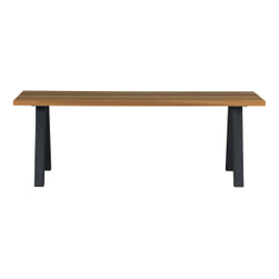 WOOOD Outdoor Eettafel 'Tablo' kleur Naturel