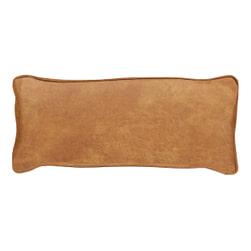 WOOOD Sierkussen 'Bean' 30 x 70cm, Recycle leer