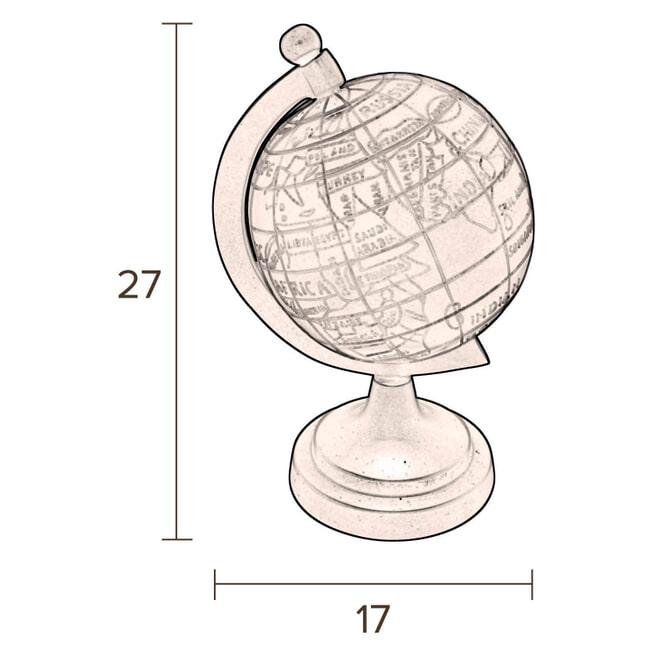 Dutchbone Wereldbol 'Globe'