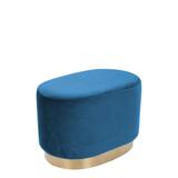 Kayoom Poef 'Nano' 55cm, kleur blauw