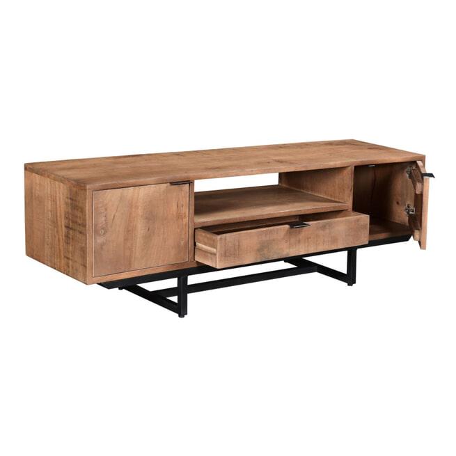 LivingFurn TV-meubel 'Valdez' kleur Naturel