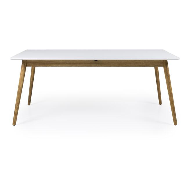Tenzo Uitschuifbare Eettafel 'Dot' 160-205 x 90cm