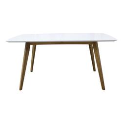 Tenzo Uitschuifbare Eettafel 'Bess' 160-205 x 95cm