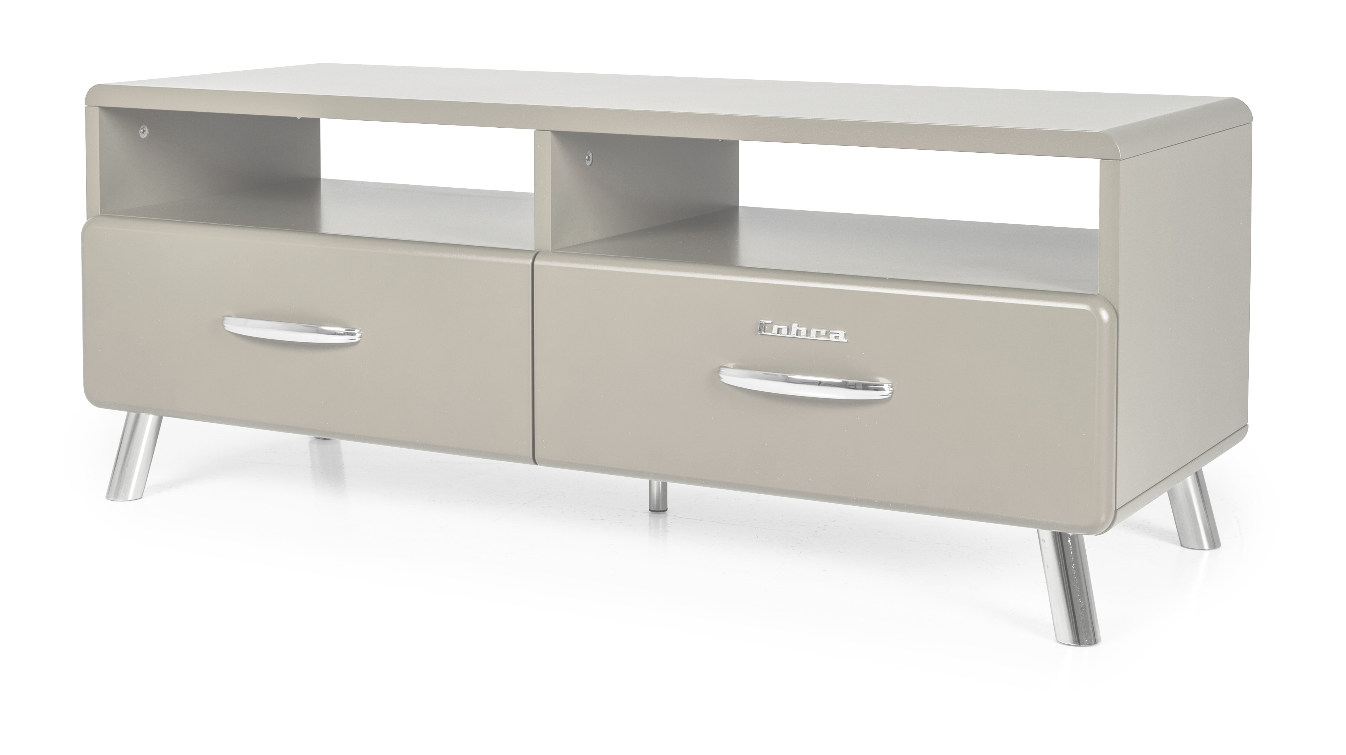 Tenzo TV-meubel 'Cobra' 118cm, kleur Warm Grijs