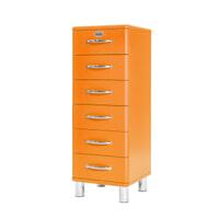 Tenzo Ladenkast 'Malibu' met 6 laden, kleur Oranje