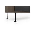Tenzo TV-meubel 'Daxx' 163cm, kleur Antraciet