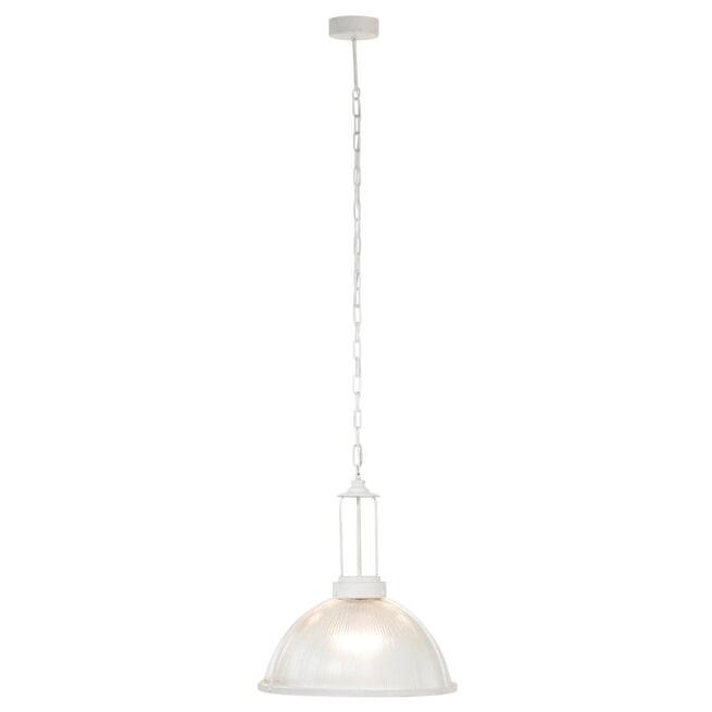 J-Line Hanglamp 'Amandus' kleur Wit, Ø47cm