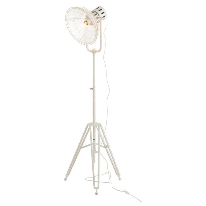 J-Line Vloerlamp 'Sylvaan' kleur Wit