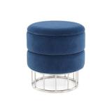 Kayoom Krukje 'Nul' met opbergruimte, kleur blauw