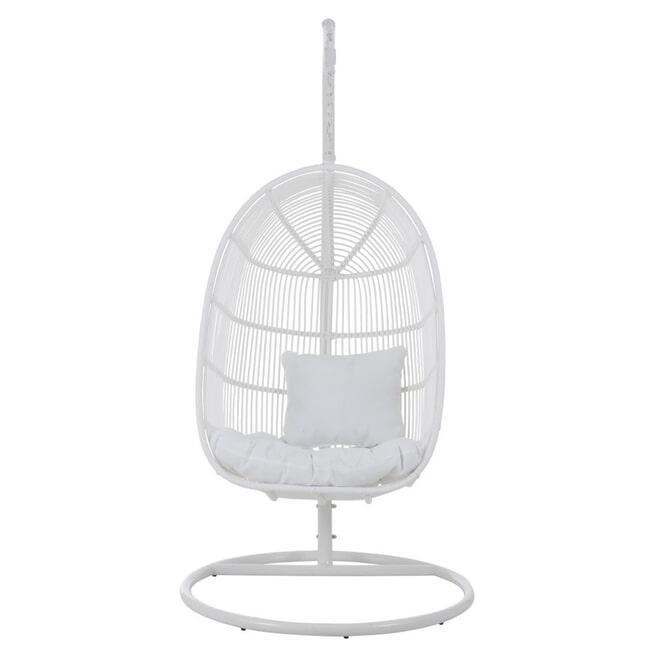 J-Line Hangstoel 'Gervais' kleur Wit