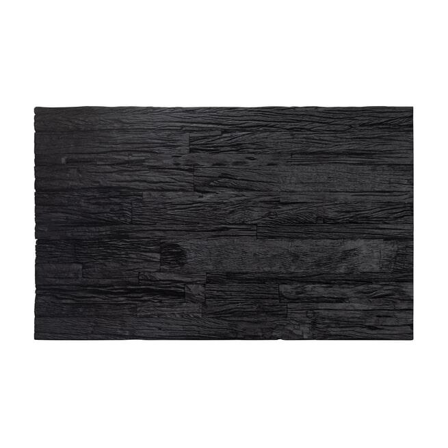 Richmond Salontafel 'Vendôme' Hout en Staal, kleur Goud / Zwart, 130 x 80cm