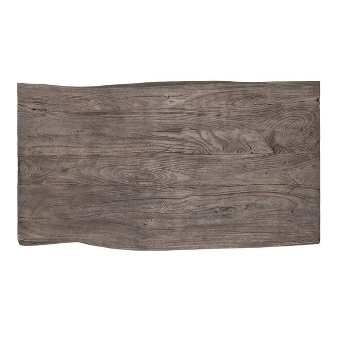 Richmond Salontafel 'Tuxedo' Acaciahout en Staal, 130 x 70cm