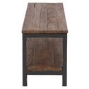 Interstil Tv-meubel 'Vintage' Oud elmhout met zwart metaal, 160cm