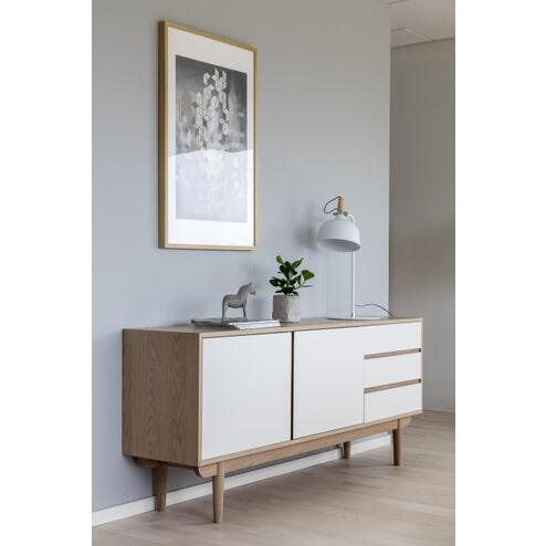 Interstil Dressoir 'Skaga' Eiken / wit, 180cm