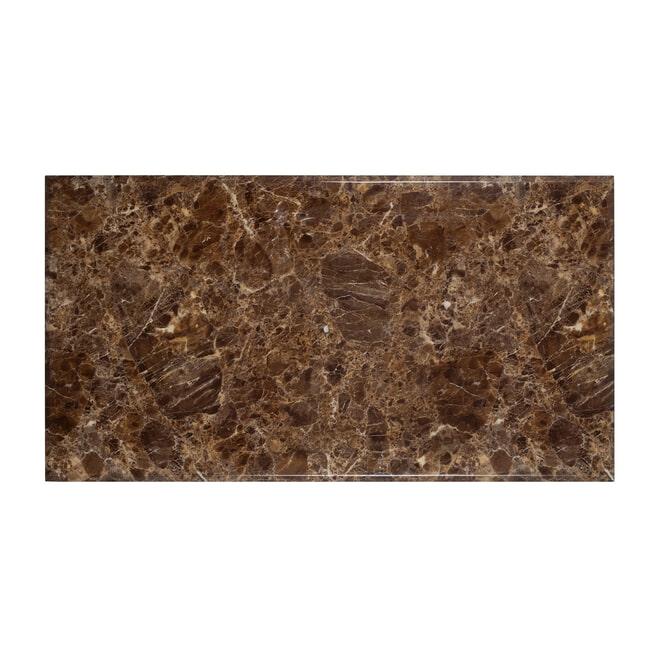 Richmond Eettafel 'Conrad' 200 x 100cm, Faux Marmer en Goud