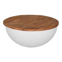 Brix Salontafel 'Suzan' 80 cm, kleur wit