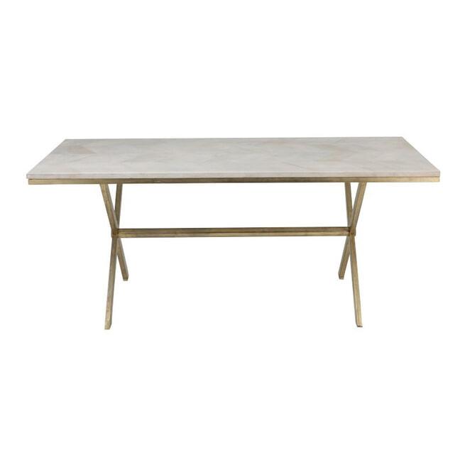 J-Line Eettafel 'Elien' 181 x 95cm