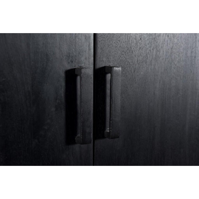 LivingFurn Dressoir 'Kala' kleur Zwart, 160cm