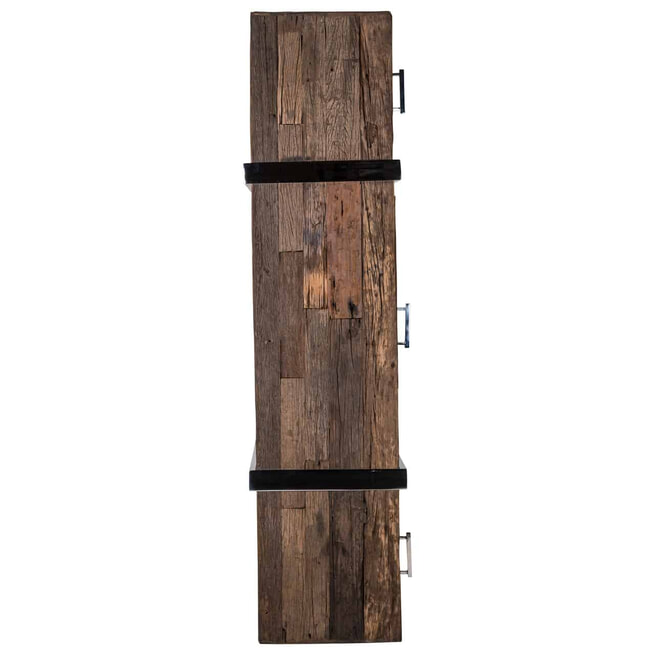 Richmond Dressoir 'Kensington' Gerecycled hout en staal, 180cm