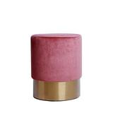 Kayoom Poef 'Nano' 35cm, kleur roze