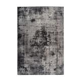 Kayoom Vloerkleed 'Vintage 8403' kleur grijs, 140 x 200cm