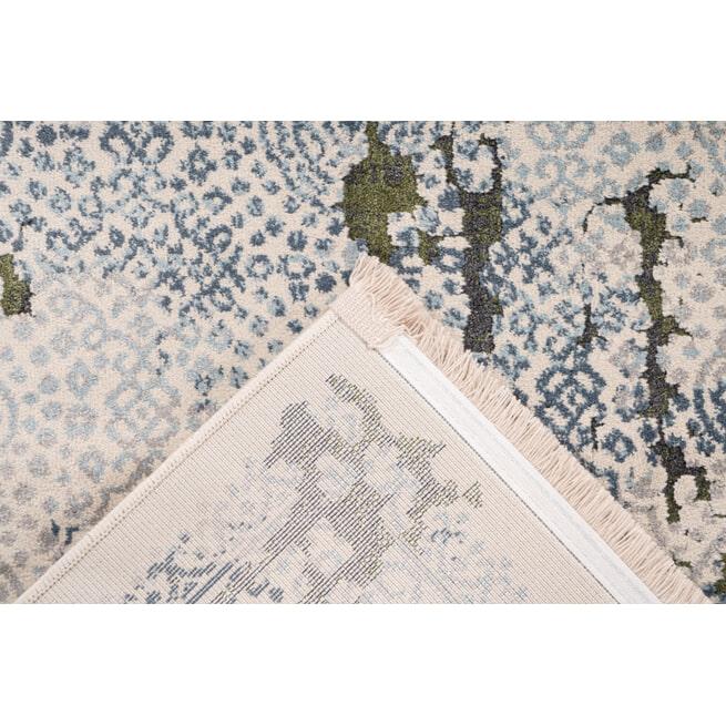 Kayoom Vloerkleed 'Palace 200' kleur grijs / groen