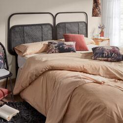 Kave Home Hoofdbord 'Margaret' Rotan, kleur Zwart