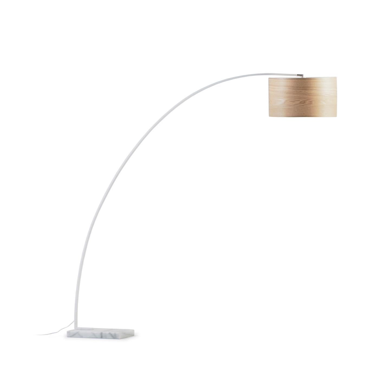 Kave Home Vloerlamp 'Juhe' kleur Naturel