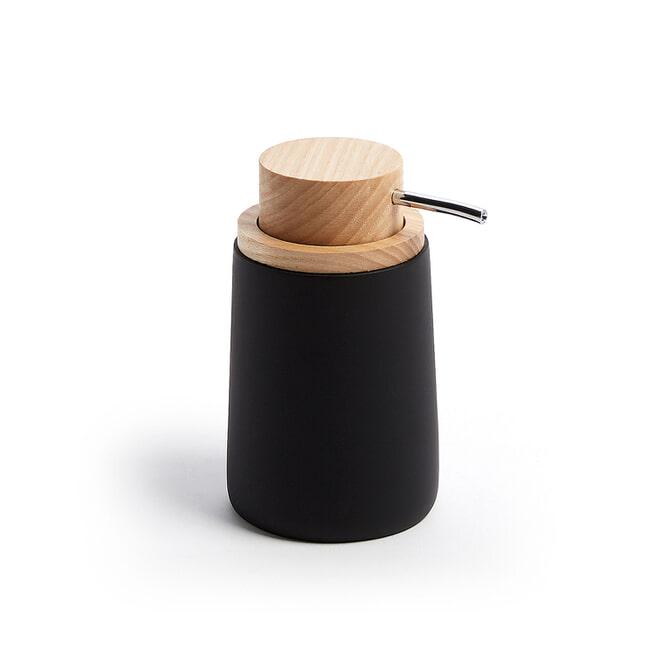 Kave Home Zeepdispenser 'Jenning' kleur Zwart