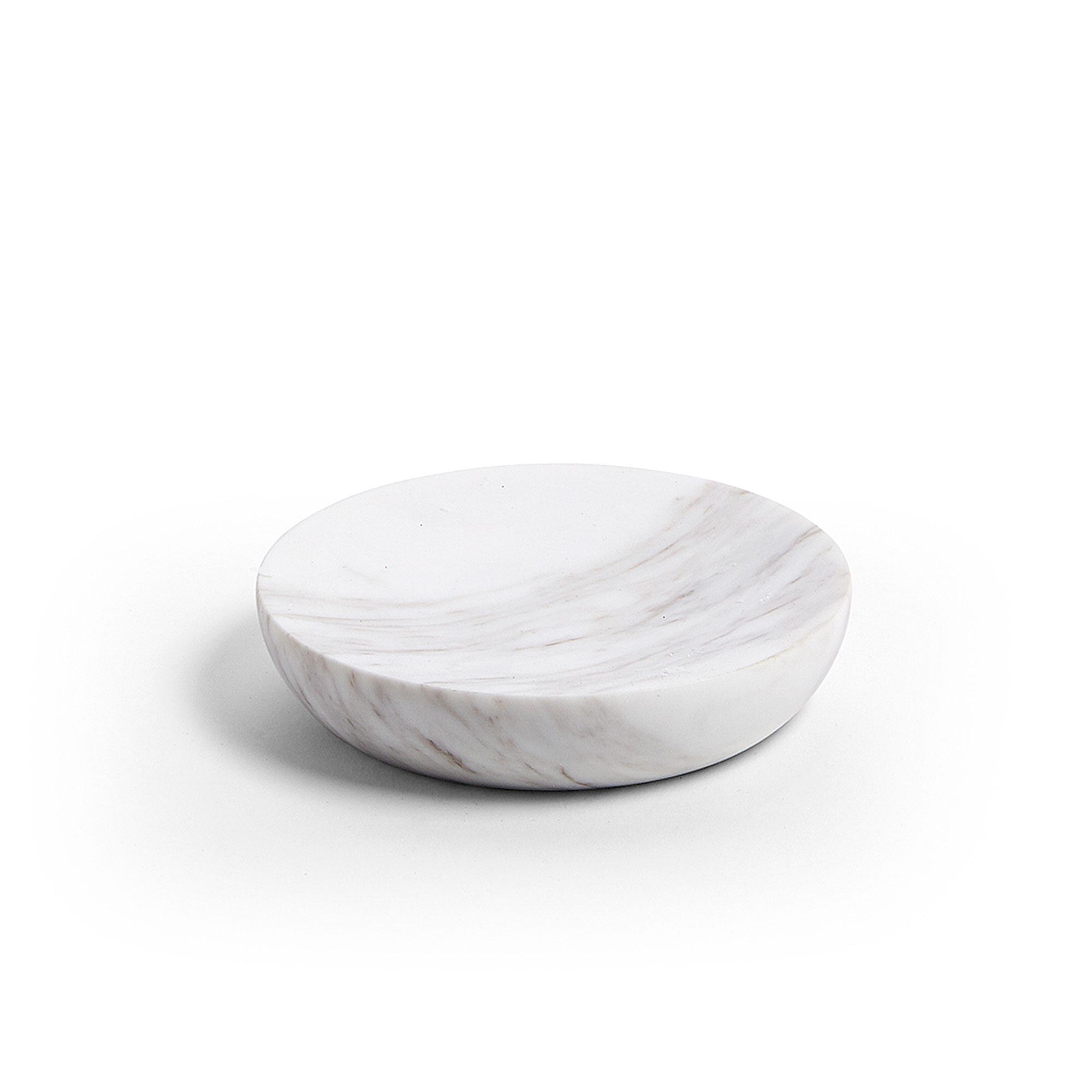 Kave Home Zeepbakje 'Almond' kleur Wit