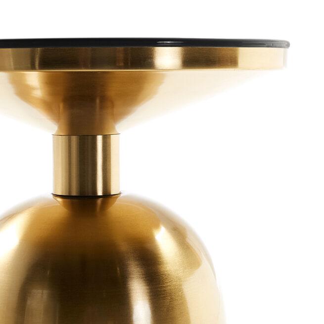 Kave Home Bijzettafel 'Physic' 38cm, kleur Goud