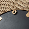 Kave Home Spiegel 'Roseburg' 80.5cm, kleur Koper