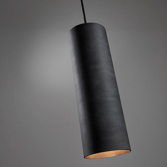 Kave Home Hanglamp 'Maude' Ø10cm, kleur Grijs
