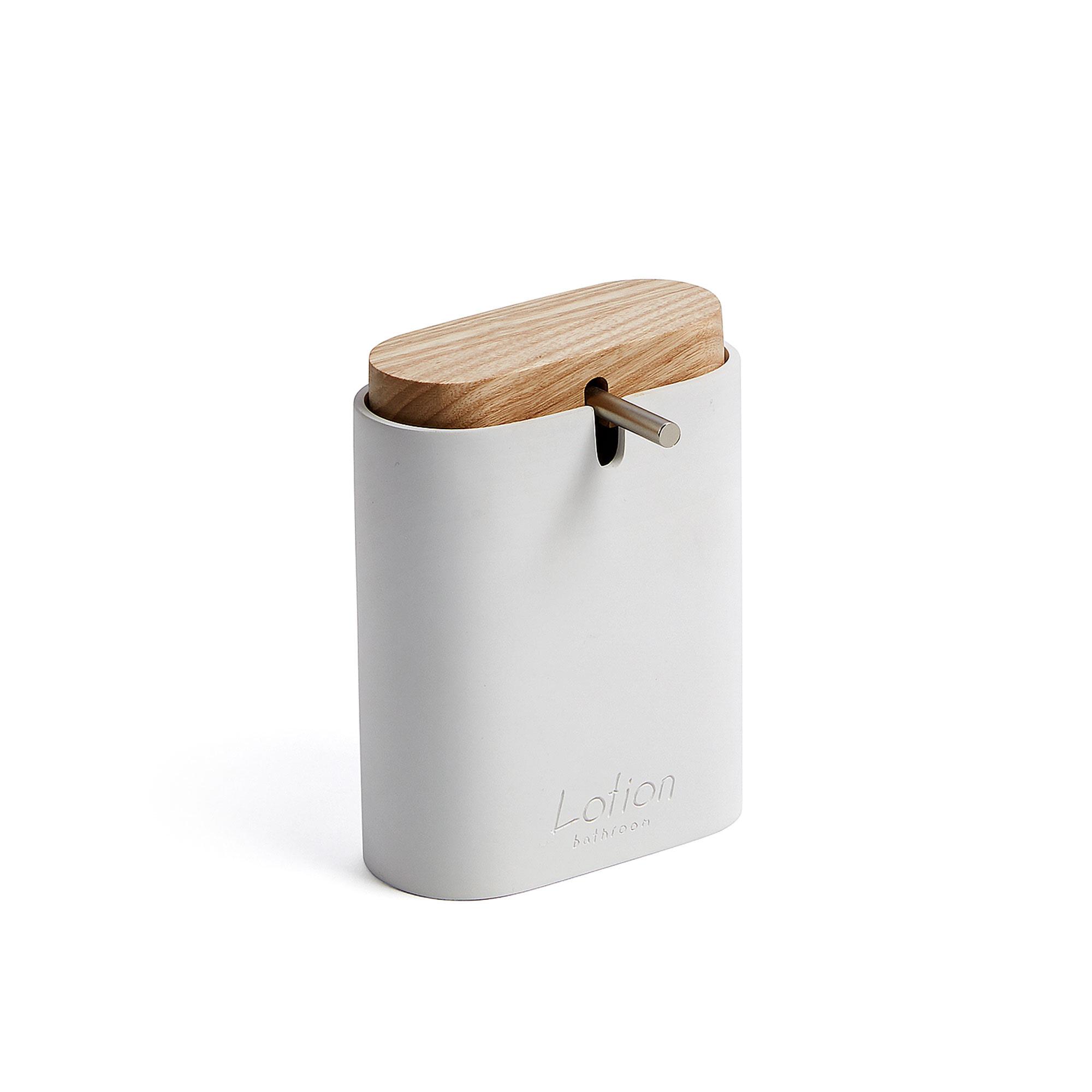 Kave Home Zeepdispenser 'Elora' kleur Wit