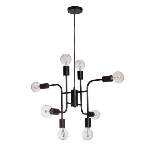 Kave Home Hanglamp 'Stonaker' 8-lamps
