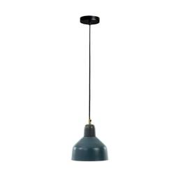 Kave Home Hanglamp 'Olimpia' Ø19cm, kleur Petrolblauw