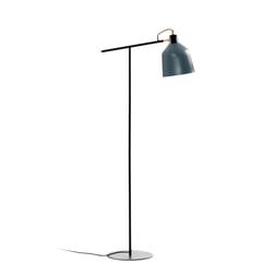 Kave Home Vloerlamp 'Olimpia' 147cm, kleur Petrolblauw