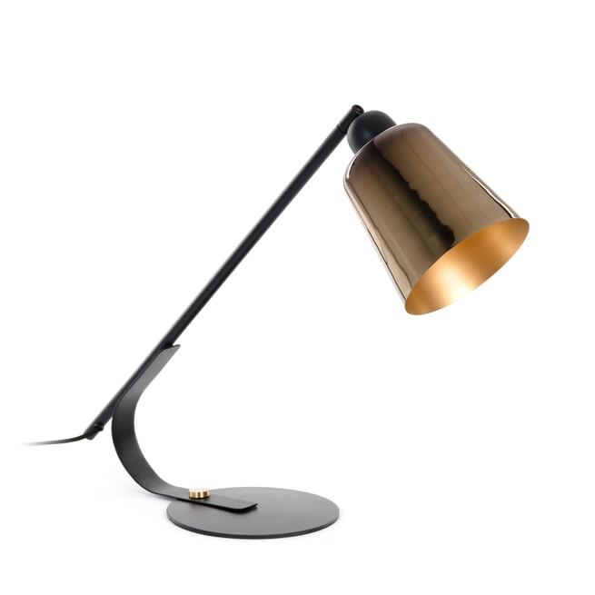 Kave Home Tafellamp 'Anina', kleur Koper
