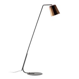 Kave Home Vloerlamp 'Anina', kleur Koper