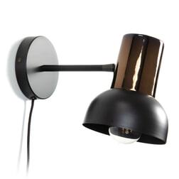 Kave Home Wandlamp 'Amina' Ø15cm, kleur Chroom
