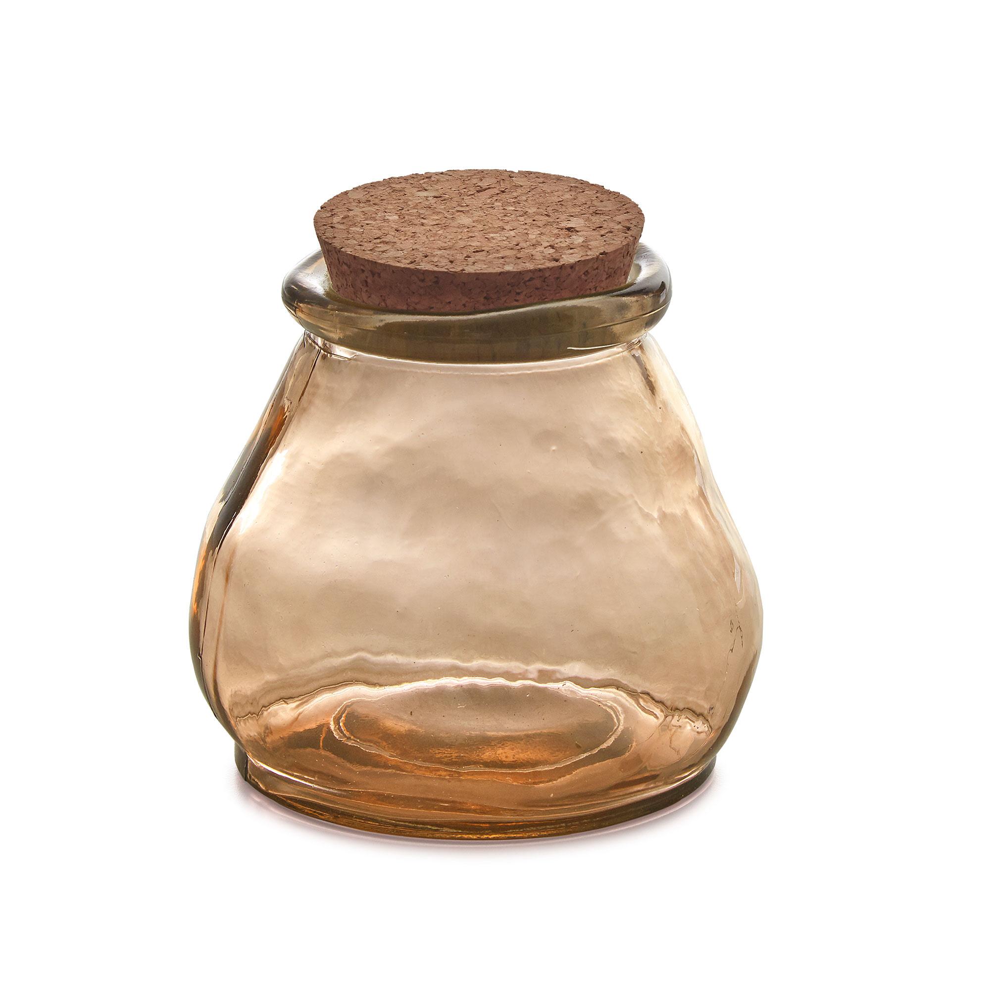 Kave Home Voorraadpot 'Rohan' Small, kleur Bruin