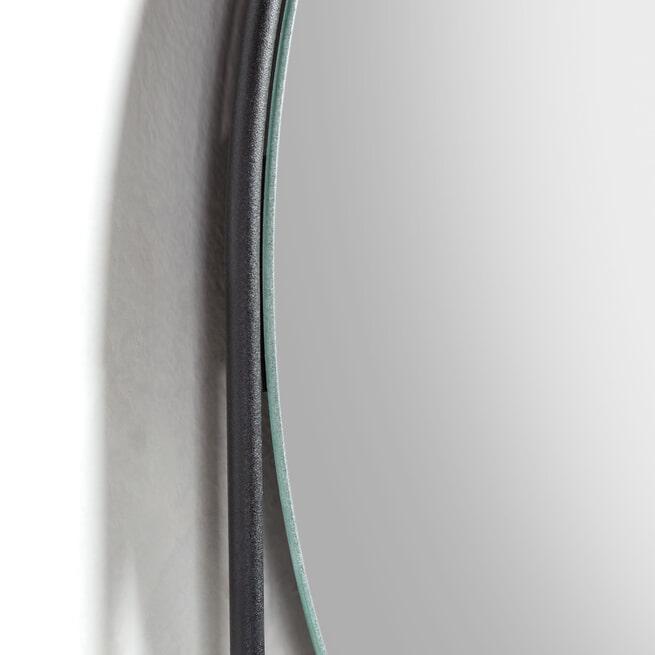 Kave Home Spiegel 'Marcolina' met wandplank