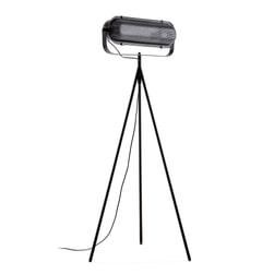 Kave Home Vloerlamp 'Arete', kleur Zwart