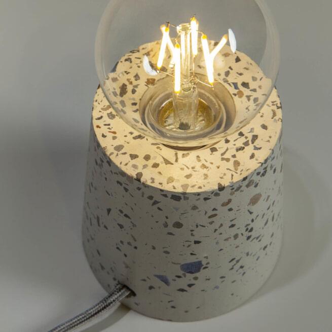 Kave Home Tafellamp 'Analia' kleur Wit