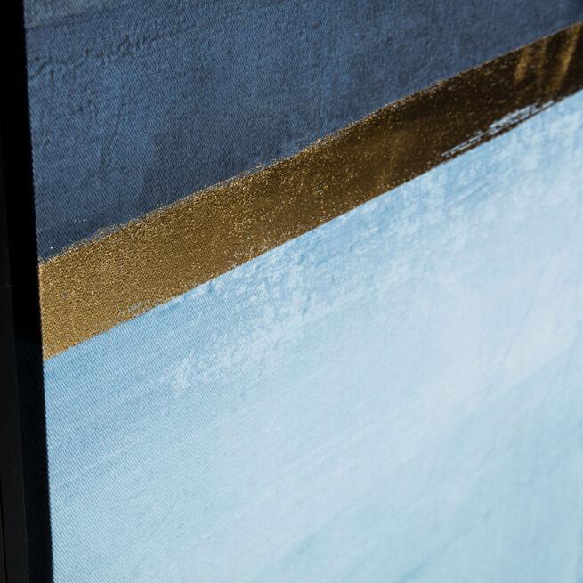 Kave Home Schilderij 'Wrigley' 90 x 60cm