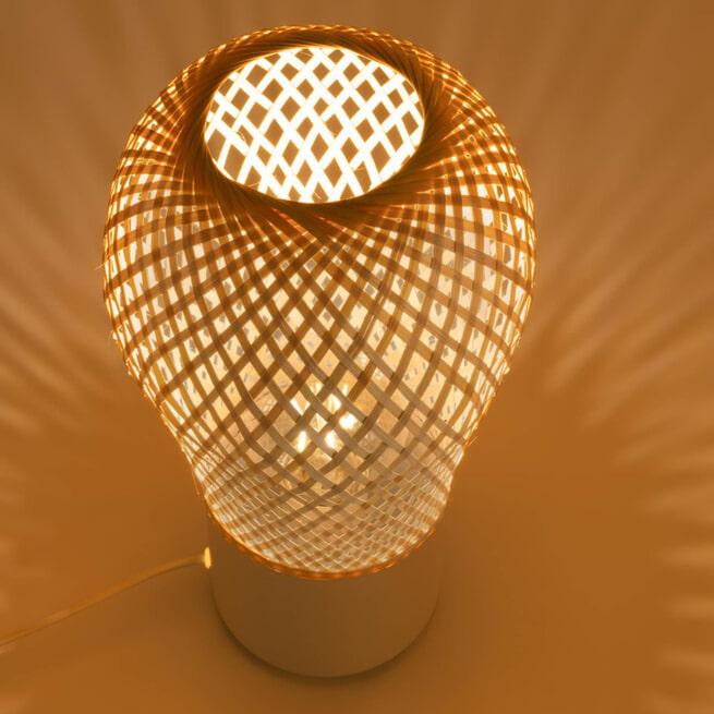 Kave Home Tafellamp 'Derora' 34cm hoog