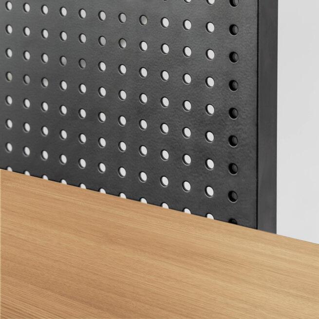 Kave Home Boekenkast  'Nadyria', 180 x 100 x 41cm, kleur Zwart